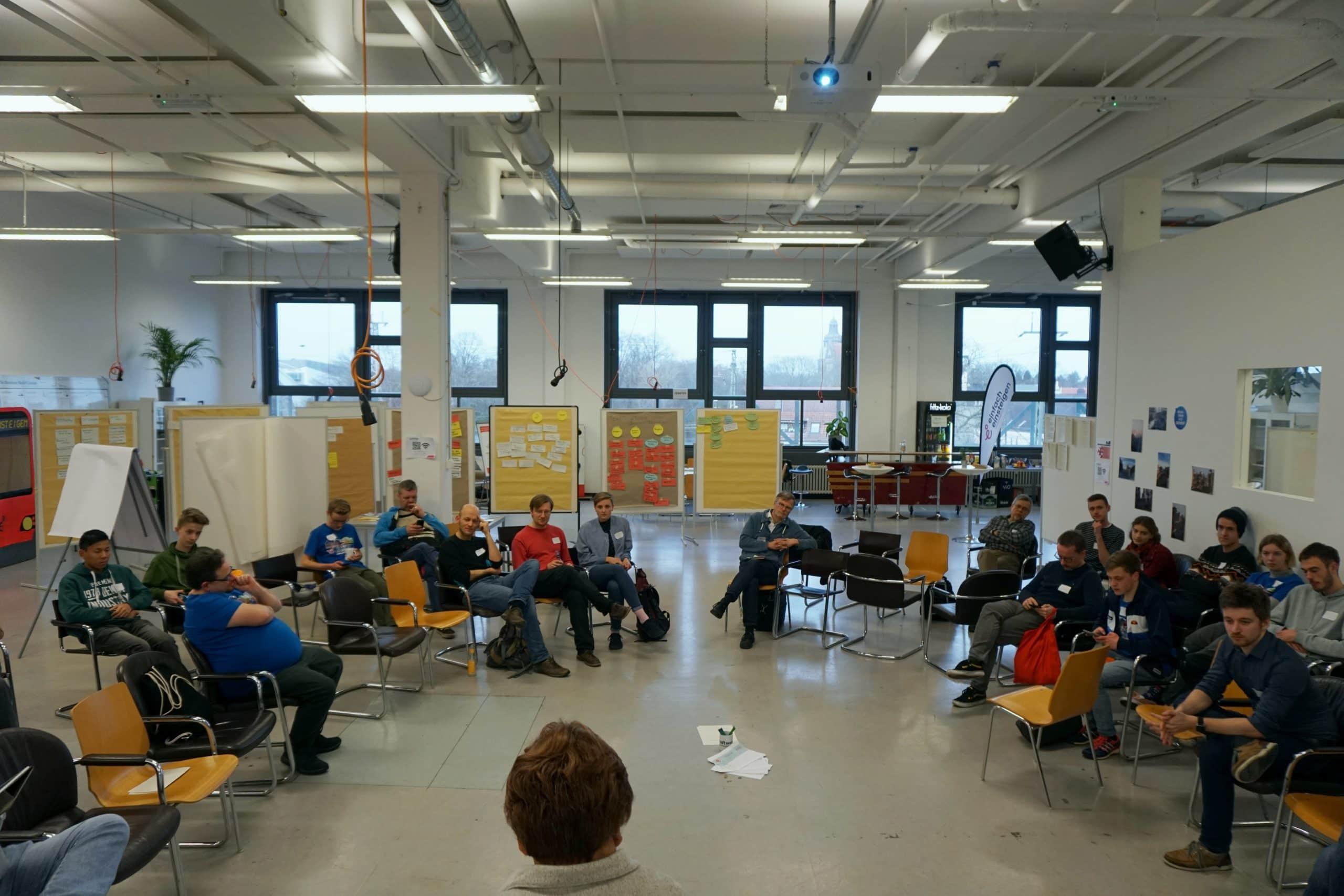 Rückblick Barcamp Nahverkehr 1