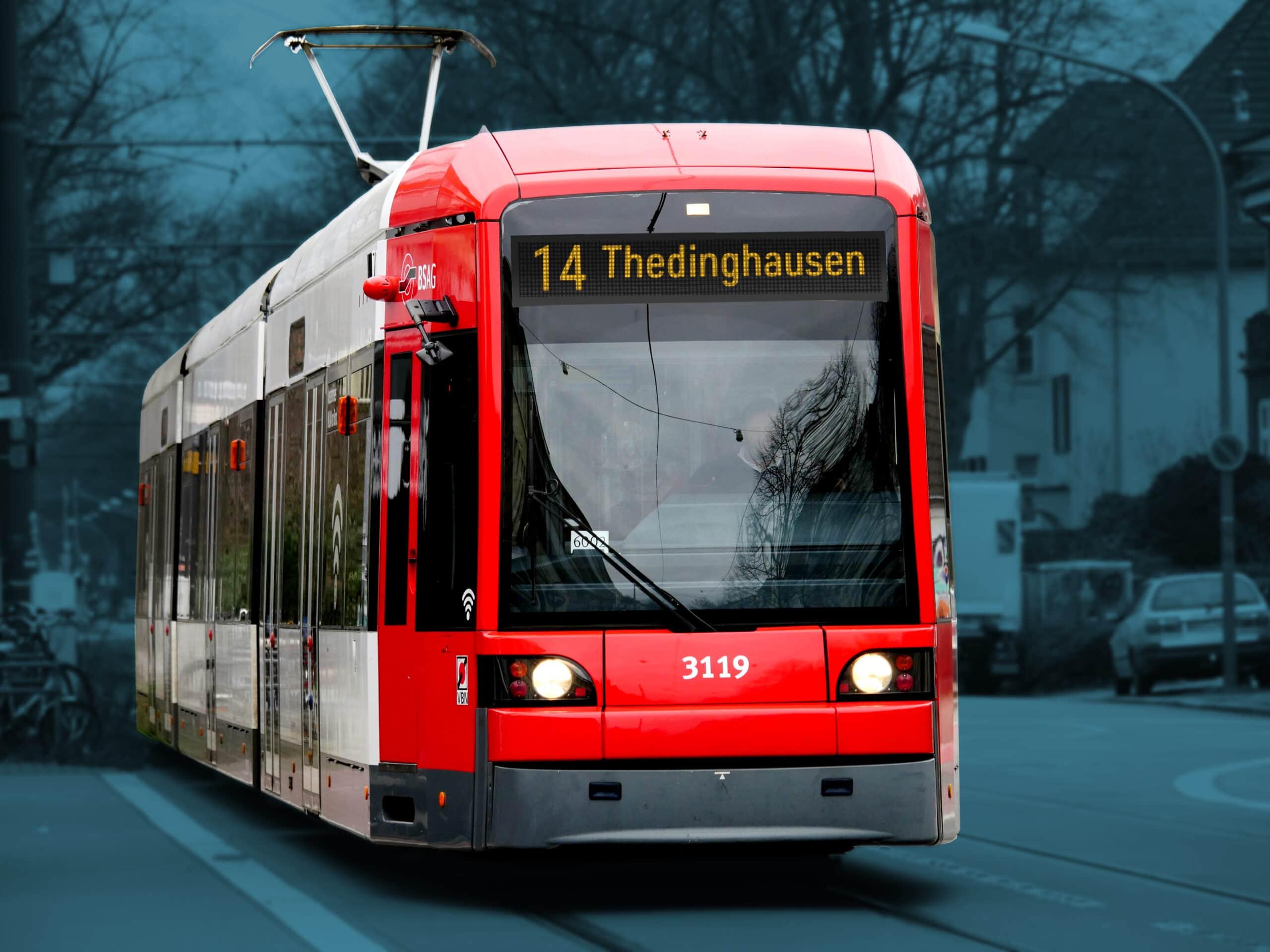 Straßenbahn nach Thedinghausen